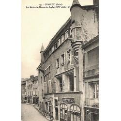 ABAO 42 - Loire [42] Charlieu - Rue Nationale, Maison des Anglais.