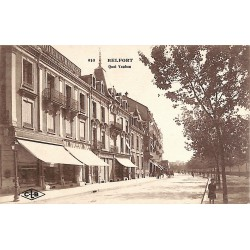 90 - Territoire de Belfort [90] Belfort - Quai Vauban.