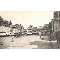 ABAO 60 - Oise [60] Noyon - La Place de l'Hôtel de Ville.