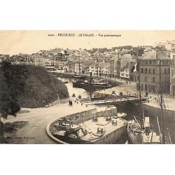 ABAO 56 - Morbihan [56] Le Palais - Vue panoramique.