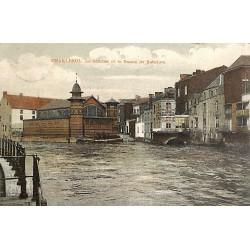 Hainaut Charleroi - La Sambre et le Bassin de Natation.