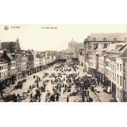 Brabant flamand Louvain - Le Vieux Marché.
