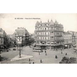 ABAO 34 - Hérault [34] Béziers - Place de la République.