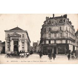 ABAO 18 - Cher [18] Bourges - La Place Cujas et l'Ecole des Beaux-Arts.