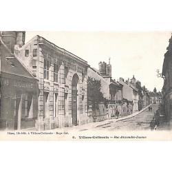 ABAO 02 - Aisne [02] Villers-Cotterêts - Rue Alexandre Dumas.