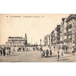 76 - Seine Maritime [76] Le Tréport - L'Esplanade et le Casino.