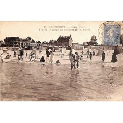 ABAO 80 - Somme [80] Le Crotoy - Cure d'air. Vue de la plage au moment de la marée.