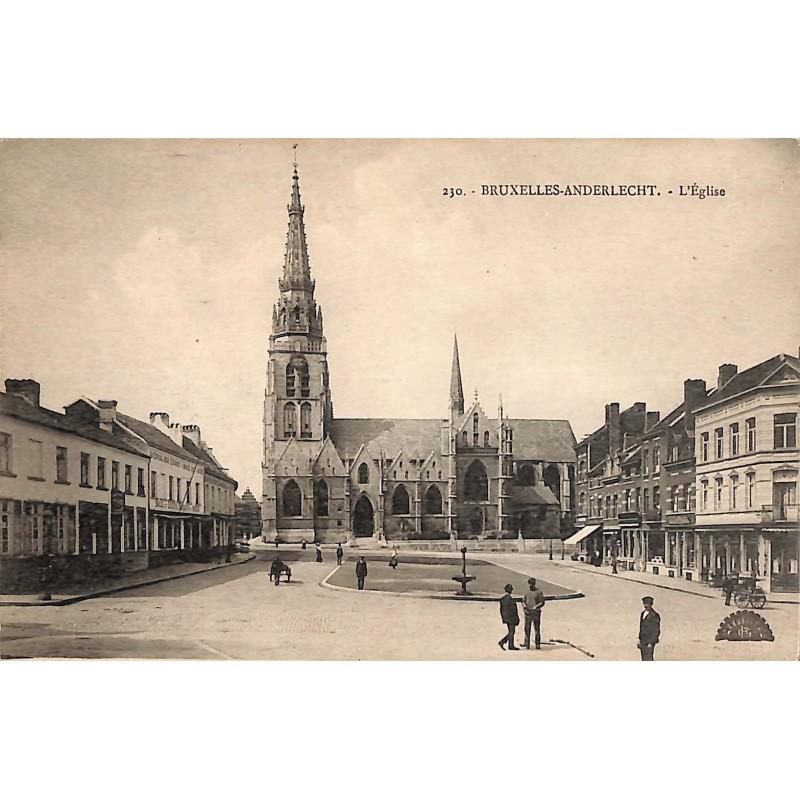 Bruxelles Anderlecht - L'Eglise.