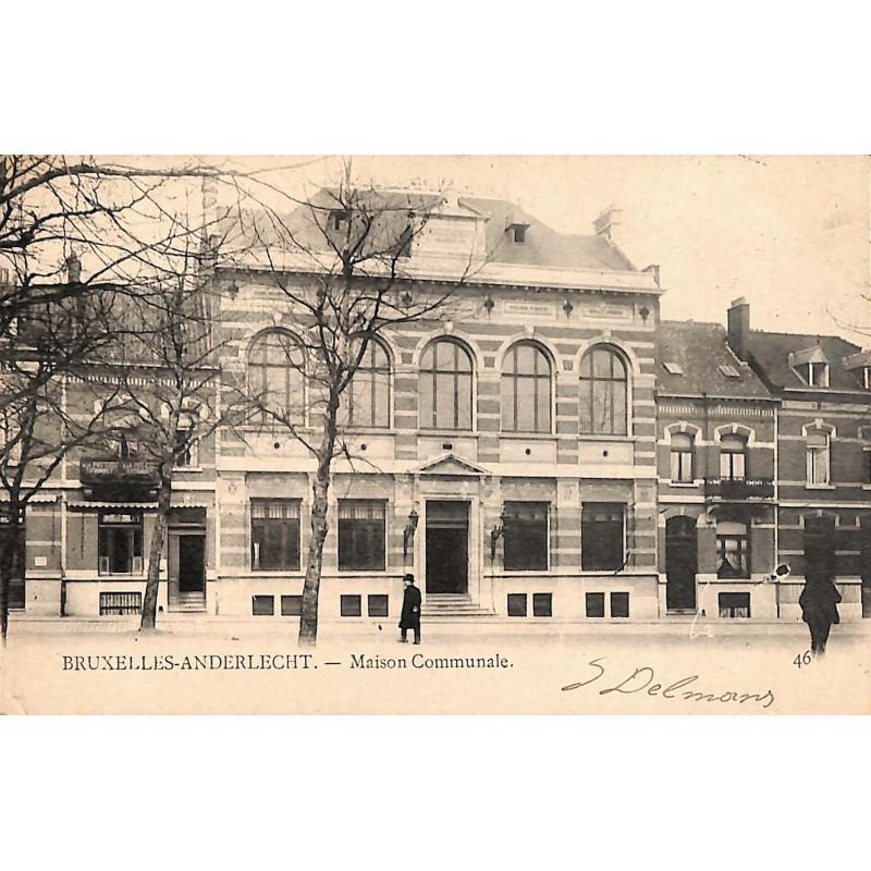 Bruxelles Anderlecht - Maison Communale.