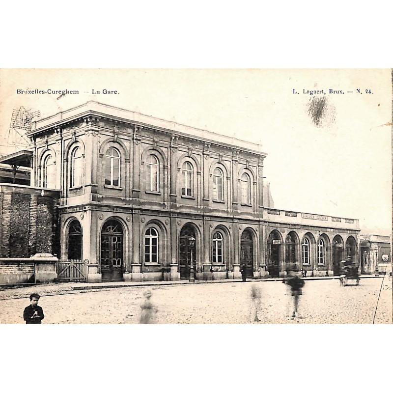 Bruxelles Anderlecht - La gare.