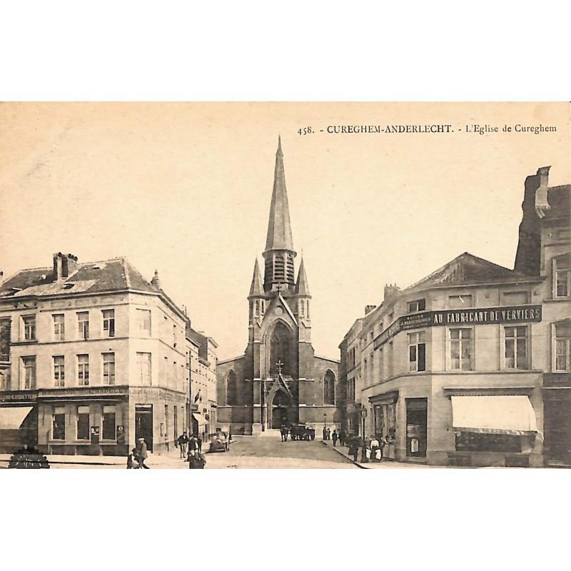 Bruxelles Anderlecht - L'Eglise de Cureghem.