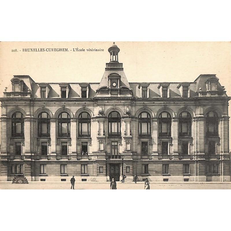 Bruxelles Anderlecht - Cureghem. L'Ecole vétérinaire.