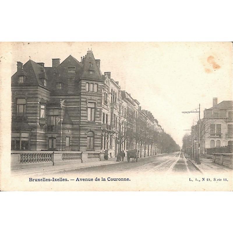 ABAO Bruxelles Ixelles - Avenue de la Couronne.