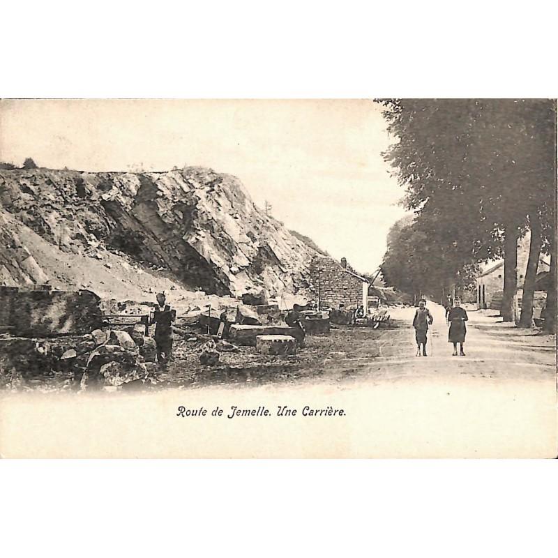 ABAO Namur Rochefort - Route de Jemelle. Une Carrière.