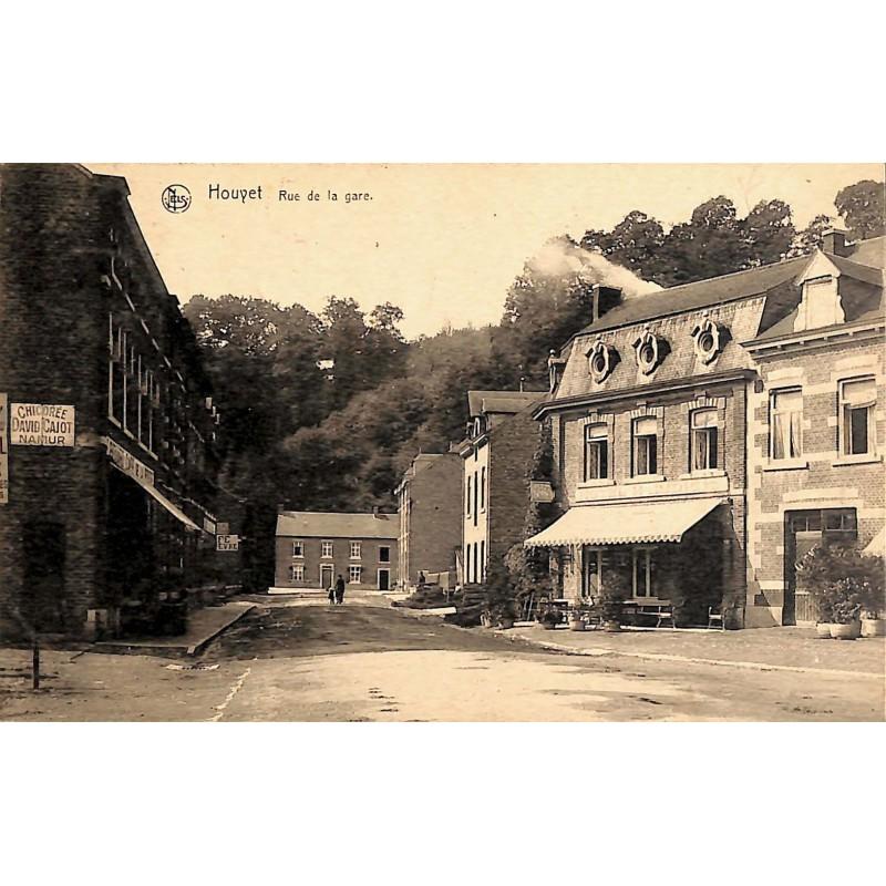 Namur Houyet - Rue de la gare.
