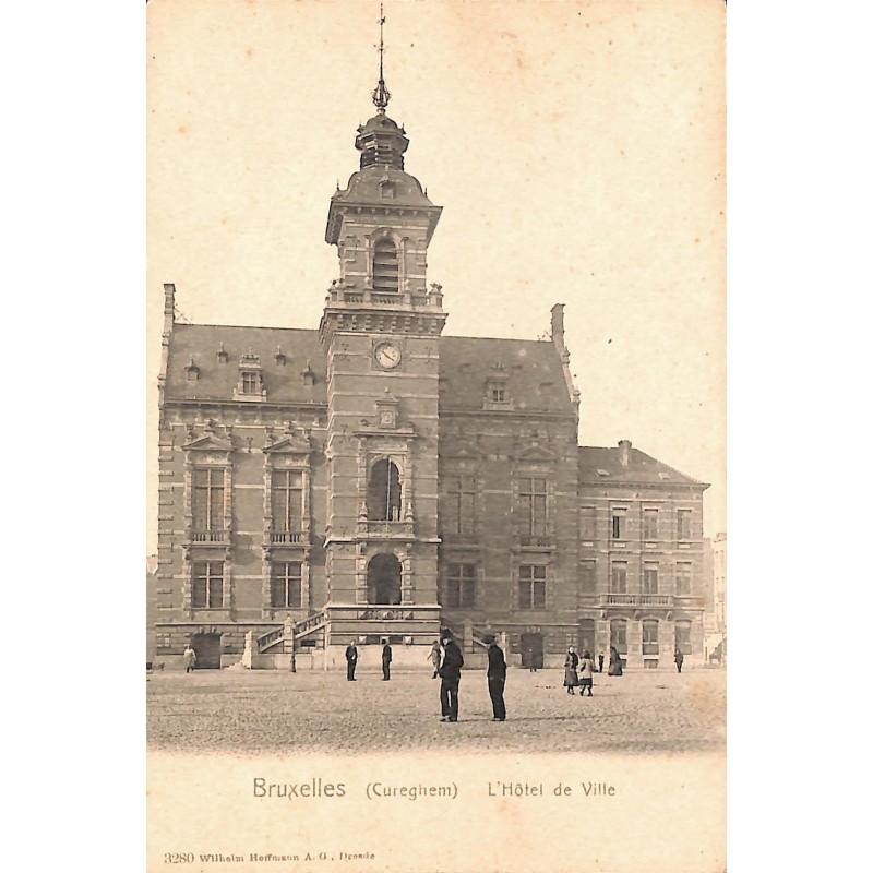 Bruxelles Anderlecht - Cureghem. L'Hôtel de Ville.