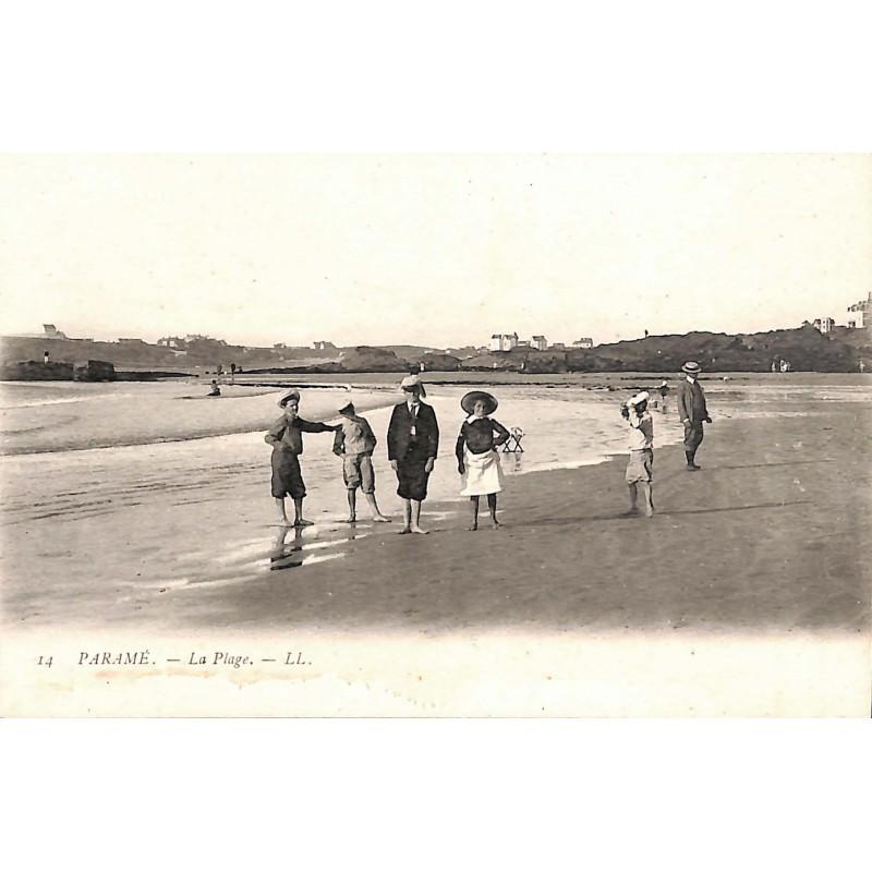 ABAO 35 - Ille-et-Vilaine [35] Saint-Malo - Paramé. La Plage.