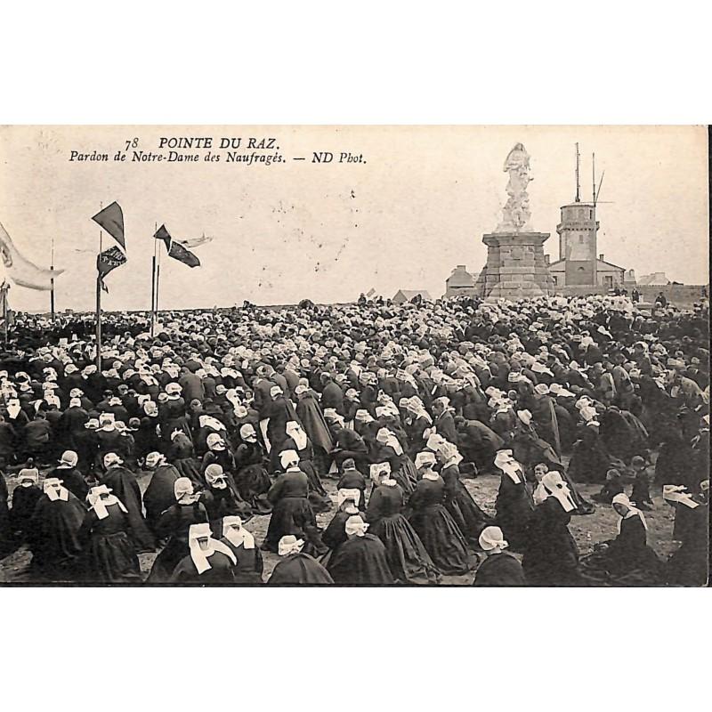 ABAO 29 - Finistère [29] Plogoff - Pointe du Raz. Pardon de Notre-Dame des Naufragés.