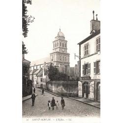 ABAO 35 - Ille-et-Vilaine [35] Saint-Malo - Saint-Servan. L'Eglise.