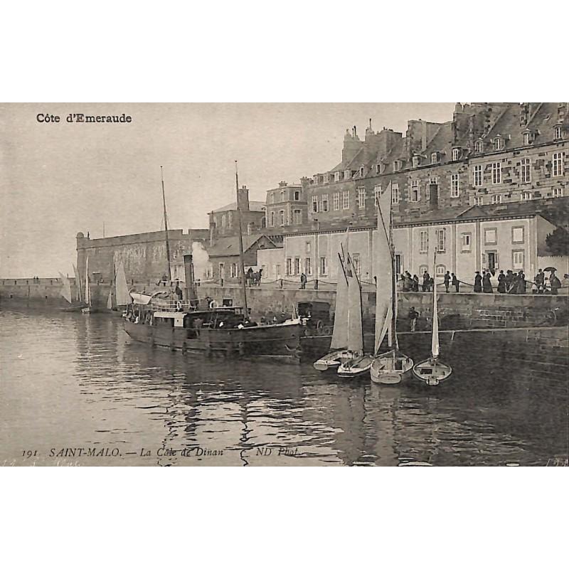 ABAO 35 - Ille-et-Vilaine [35] Saint-Malo - La Cale de Dinan.