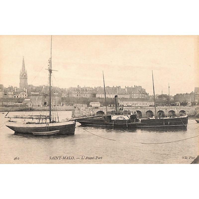 ABAO 35 - Ille-et-Vilaine [35] Saint-Malo - L'Avant-Port.