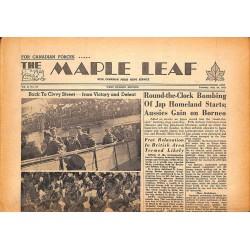 ABAO Journaux et périodiques The Maple Leaf. 1945/07/10. Vol.3 N°91.