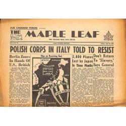 Journaux et périodiques The Maple Leaf. 1945/07/13. Vol.3 N°94.