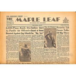 Journaux et périodiques The Maple Leaf. 1945/07/17. Vol.3 N°97.