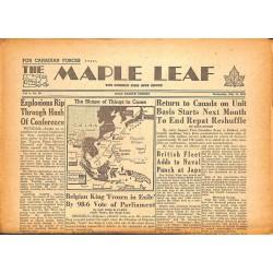Journaux et périodiques The Maple Leaf. 1945/07/18. Vol.3 N°98.