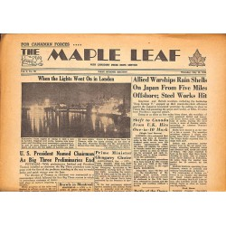 Journaux et périodiques The Maple Leaf. 1945/07/19. Vol.3 N°99.