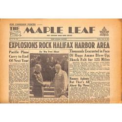 Journaux et périodiques The Maple Leaf. 1945/07/20. Vol.3 N°100.