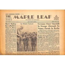 Journaux et périodiques The Maple Leaf. 1945/07/23. Vol.3 N°102.