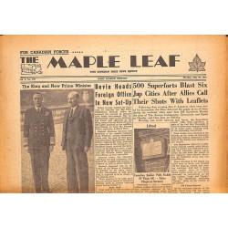 Journaux et périodiques The Maple Leaf. 1945/07/30. Vol.3 N°108.