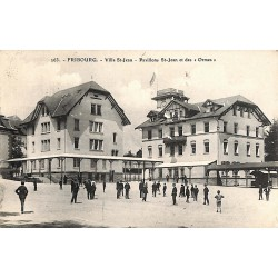 """ABAO Suisse Fribourg - Villa St-Jean. Pavillons St-Jean et des """"Ormes""""."""