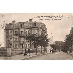 ABAO 35 - Ille-et-Vilaine [35] Dinard - Boulevard de l'Ecluse. Hôtel des Terrasses.