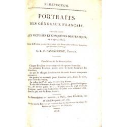 1800-1899 PORTRAIT DES GENERAUX FRANCAIS faisant suite aux victoires et conquètes des français de 1792 à 1815.