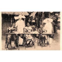 ABAO Congo Nsona-Mbata - Mission des filles de la Charité. La leçon de couture.