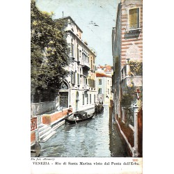 ABAO Italie Venezia - Rio di Santa Maria visto dal Ponte dell'Erbe.