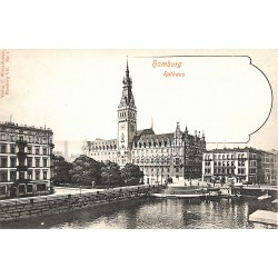 ABAO Allemagne Hamburg - Rathaus.