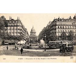 75 - Paris [75] Paris - Perspective de la Rue Soufflot et du Penthéon.