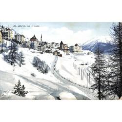 ABAO Suisse Saint-Moritz - in Winter.