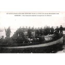 ABAO Italie Messine - Une baleinière anglaises transportant les blessés.