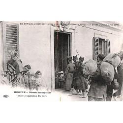 ABAO Italie Messine - Blessés transportés chez le Capitaine du Port.