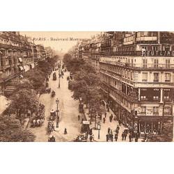 75 - Paris [75] Paris - Boulevard Montmartre.