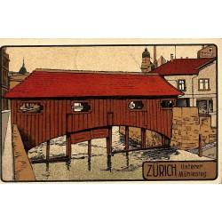 ABAO Allemagne Zürich - Unterer Mühlesteg.