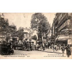 75 - Paris [75] Paris - Le Boulevard St-Martin.