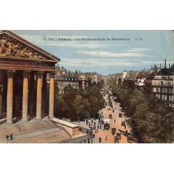75 - Paris [75] Paris - Le Boulevard de la Madeleine.