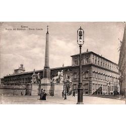 ABAO Italie Roma - Piazza del Quirinale. Monte Cavallo.