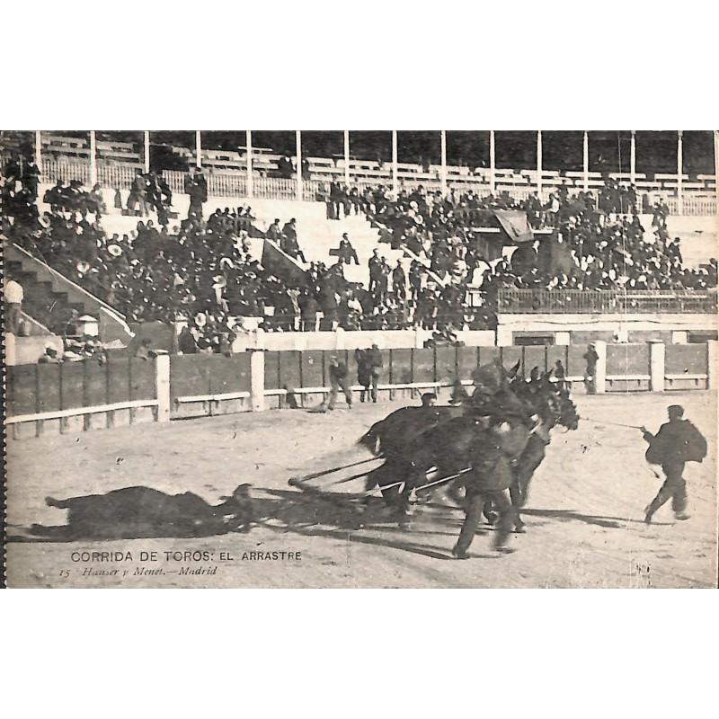 ABAO Espagne Madrid - Corrida de Toros. El Arrastre.