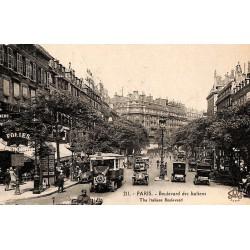75 - Paris [75] Paris - Boulevard des Italiens.